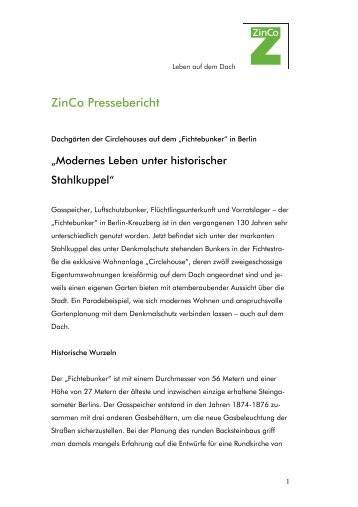 PDF-Version - ZinCo