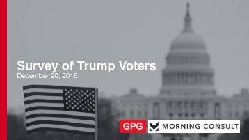 Survey of Trump Voters