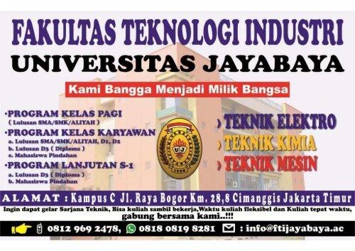 logo universitas jayabaya jakarta  u2013 contoh banner