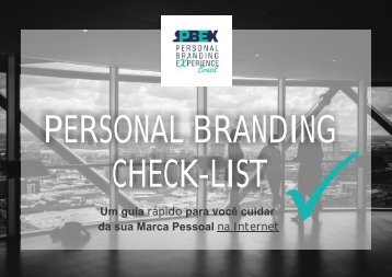 PERSONAL BRANDING CHECK-LIST
