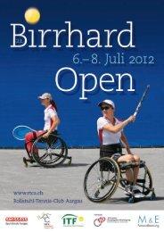 Wir machen den Weg frei - RTCA Rollstuhl-Tennis Club Aargau