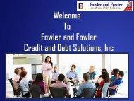 Choose Credit Report Repair