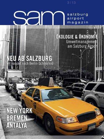 Salzburg Airport Magazin SAM 2013-03