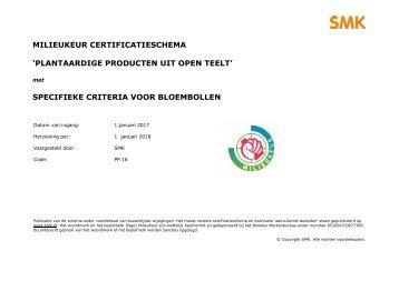 MilieukeurOpenTeeltCertificatieschema2017-Bloembollen