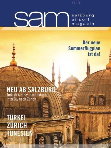 Salzburg Airport Magazin SAM 2013-01