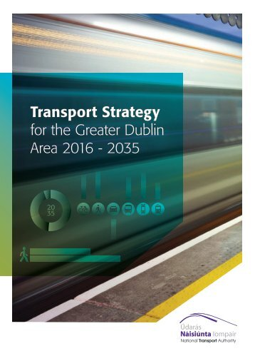 Transport Strategy for the Greater Dublin Area 2016 - 2035