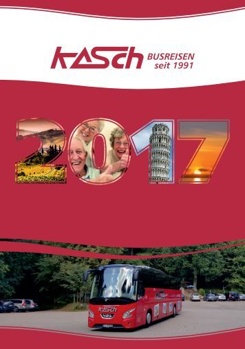 KASCH Busreisen 2017