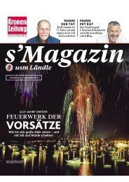 s'Magazin usm Ländle, 1. Jänner 2017