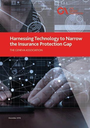 Harnessing Technology to Narrow the Insurance Protection Gap