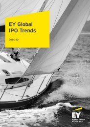 EY Global IPO Trends