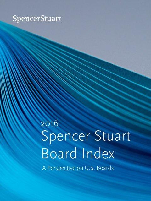 Spencer Stuart Board Index