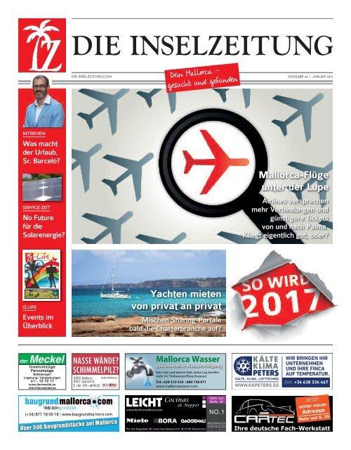 Die Inselzeitung Mallorca Januar 2017