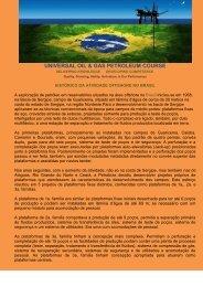 A HISTORIA DO PETRÓLEO NO BRASIL