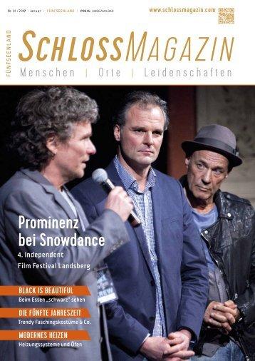 SchlossMagazin Fünfseenland Januar 2017