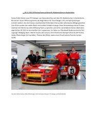 03.11.2012 SR Racing Team auf dem 45. Akademischen in ...
