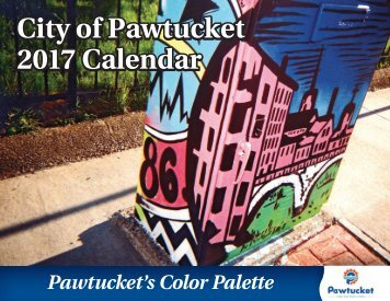 City of Pawtucket 2017 Calendar