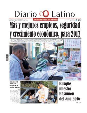 Edición 30 de Diciembre de 2016