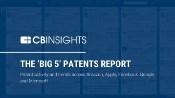 THE 'BIG 5' PATENTS REPORT
