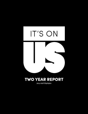 TWO YEAR REPORT