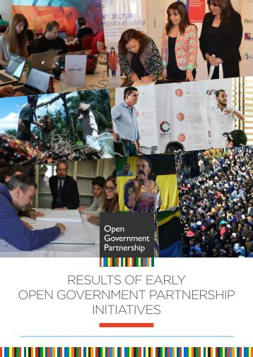 RESULTS OF EARLY OPEN GOVERNMENT PARTNERSHIP INITIATIVES