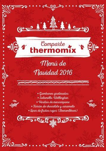 Menú de Navidad 2016