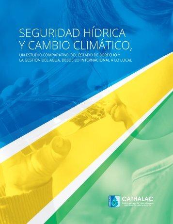 SEGURIDAD HÍDRICA Y CAMBIO CLIMÁTICO