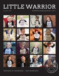 #LittleWarriorStrong Stories | Vol I