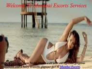 High Class Call Girls in Independent Mumbai Escorts Sexual Fun