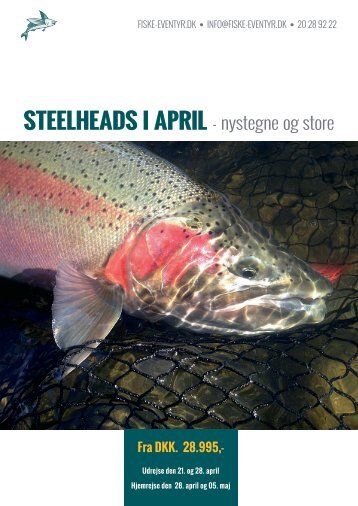 Steelheads i April