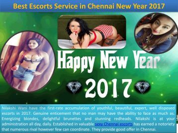 Escorts in Chennai Offer For New Year 2017