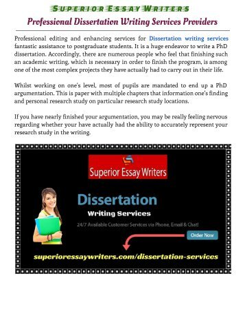 Dissertation editing services reviews