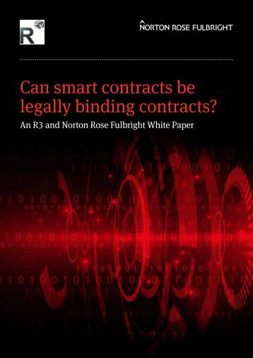legally binding contracts?