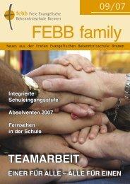Neuer Kurs - Freie Evangelische Bekenntnisschule