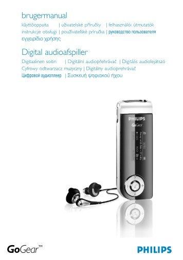 Philips Baladeur audio à mémoire flash - Mode d'emploi - HUN