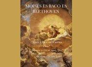 Bacchus-Moises-Beethoven