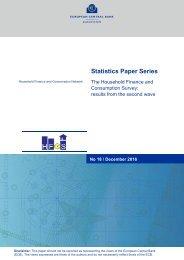 Statistics Paper Series