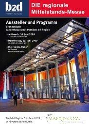 Aussteller und Programm - B2B Deutschland