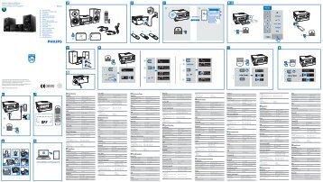 Philips Système audio sans fil multiroom - Guide de mise en route - HUN