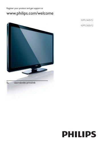 Philips TV LCD - Mode d'emploi - SLV