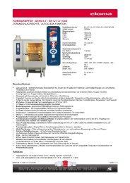 KOMBIDÄMPFER - GENIUS T - GN 12 x 2/1 GAS