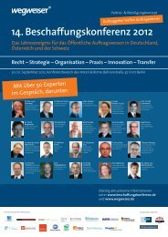 Strategie – Organisation – Praxis – Innovation - ÖPP Deutschland AG