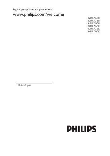 Philips TV LCD - Mode d'emploi - FIN