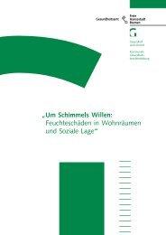 Um Schimmels Willen - Gesundheitsamt Bremen