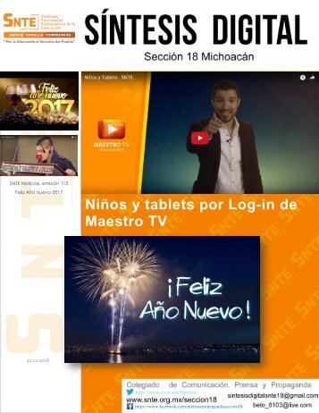 Niños y tablets por Log-in de Maestro TV