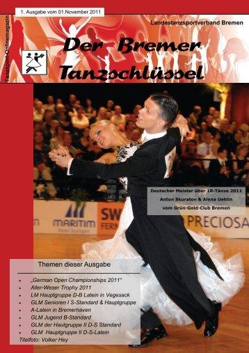 Der Bremer Tanzschlüssel - Landestanzsportverband Bremen e.V.
