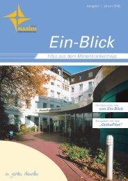 """von Ein-Blick """"OrthoPilot"""" - Marienkrankenhaus Schwerte"""