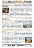 35. LATEINAMERIKAWOCHE 21. bis 29. Januar ... - Mission Einewelt - Seite 3