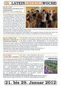 35. LATEINAMERIKAWOCHE 21. bis 29. Januar ... - Mission Einewelt - Seite 6
