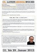 35. LATEINAMERIKAWOCHE 21. bis 29. Januar ... - Mission Einewelt - Seite 7