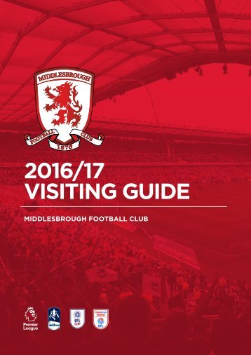 2016/17 VISITING GUIDE